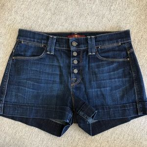 7 for all mankind denim jean shorts. Like new